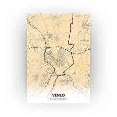Venlo print - Antiek stijl