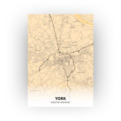York print - Antiek stijl