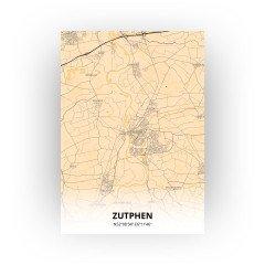 Zutphen print - Antiek stijl