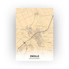 Zwolle print - Antiek stijl