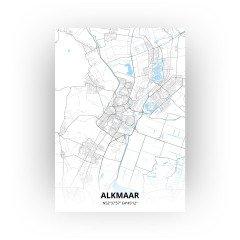 Alkmaar print - Standaard stijl