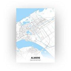 Almere print - Standaard stijl
