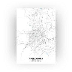 Apeldoorn print - Standaard stijl