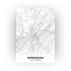 Birmingham print - Standaard stijl