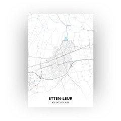 Etten-Leur print - Standaard stijl