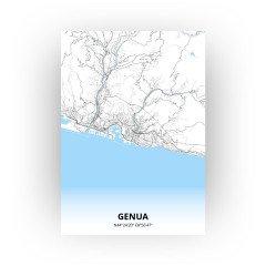 Genua print - Standaard stijl