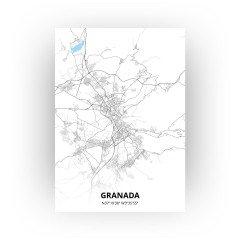Granada print - Standaard stijl