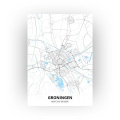 Groningen print - Standaard stijl