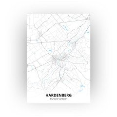 Hardenberg print - Standaard stijl