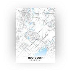 Hoofddorp print - Standaard stijl