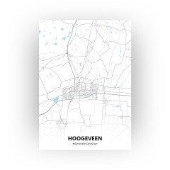 Hoogeveen print - Standaard stijl