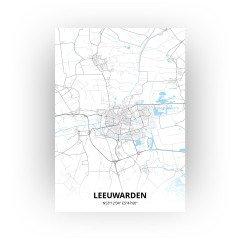 Leeuwarden print - Standaard stijl