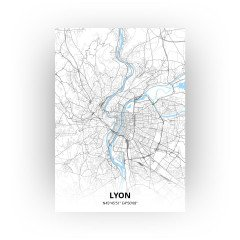 Lyon print - Standaard stijl