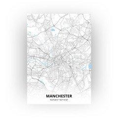 Manchester print - Standaard stijl