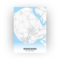 Middelburg print - Standaard stijl