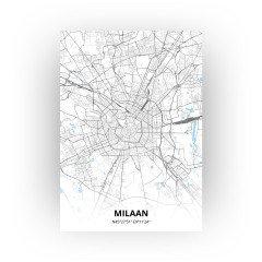 Milaan print - Standaard stijl
