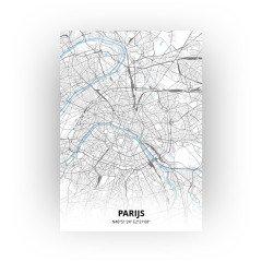 Parijs print - Standaard stijl