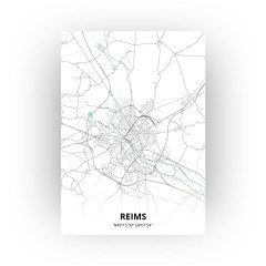 Reims print - Standaard stijl