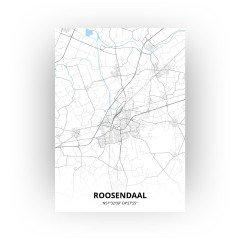 Roosendaal print - Standaard stijl