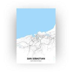 San Sebastian print - Standaard stijl