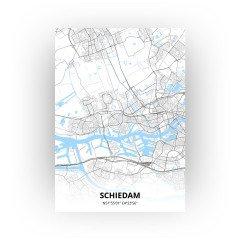 Schiedam print - Standaard stijl