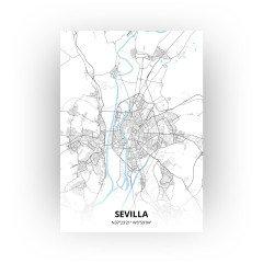 Sevilla print - Standaard stijl
