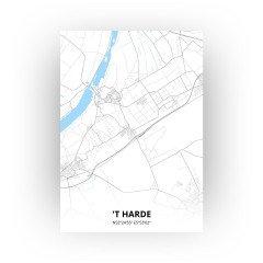 't Harde print - Standaard stijl