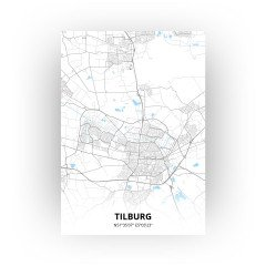 Tilburg print - Standaard stijl