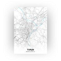 Turijn print - Standaard stijl