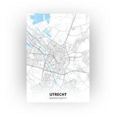 Utrecht print - Standaard stijl