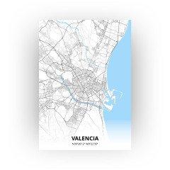 Valencia print - Standaard stijl