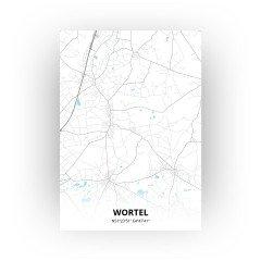Wortel print - Standaard stijl