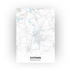 Zutphen print - Standaard stijl