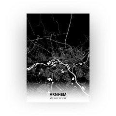 Arnhem print - Zwart stijl