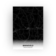 Barneveld print - Zwart stijl