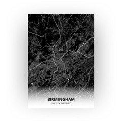 Birmingham print - Zwart stijl