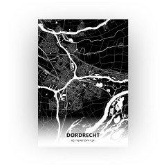Dordrecht print - Zwart stijl