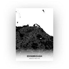 Edinbrough print - Zwart stijl