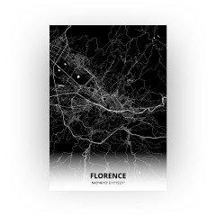 florence print - Zwart stijl