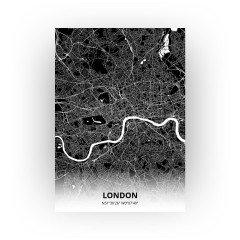 London print - Zwart stijl