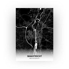 Maastricht print - Zwart stijl