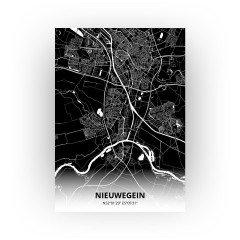 Nieuwegein print - Zwart stijl