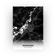 Roermond print - Zwart stijl