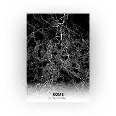 Rome print - Zwart stijl