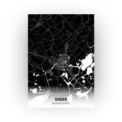 Sneek print - Zwart stijl