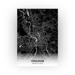 Toulouse print - Zwart stijl