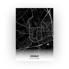 Venray print - Zwart stijl