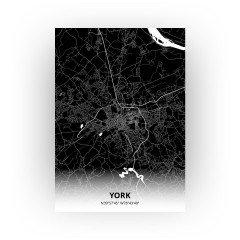 York print - Zwart stijl