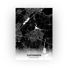 Zoetermeer print - Zwart stijl