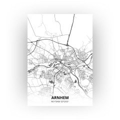 Arnhem print - Zwart Wit stijl